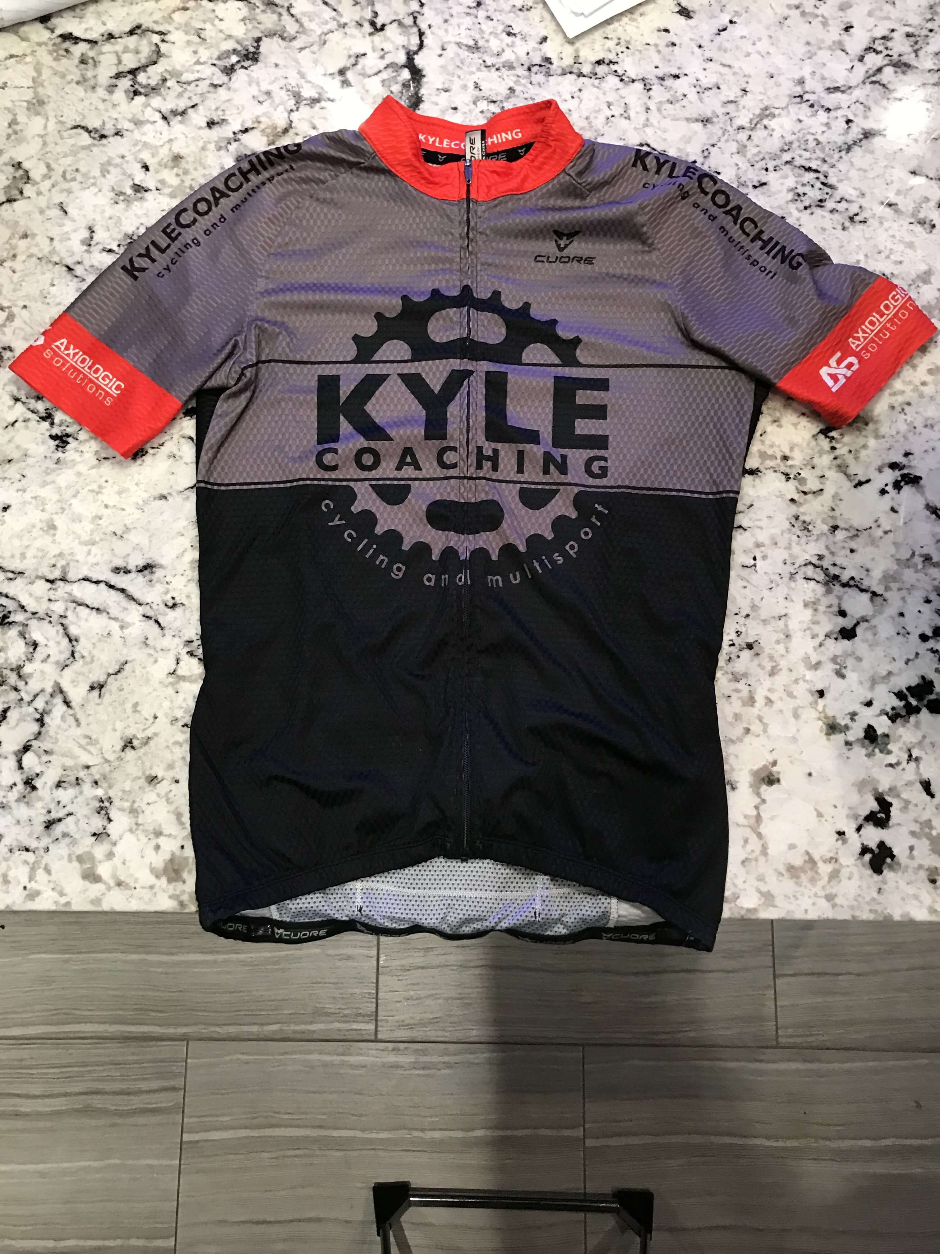 Cuore Silver Men Cycling S Sleeve Race Jersey - KyleCoaching 3c7355411