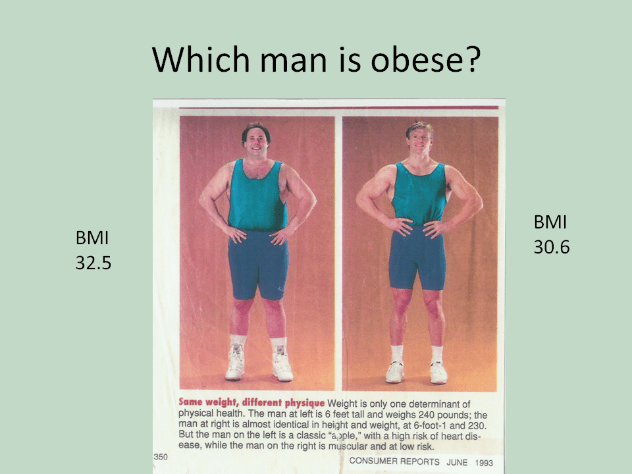 Bmi Percentage Body Fat And W Kg What Gives